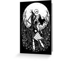 Halloween Love Greeting Card