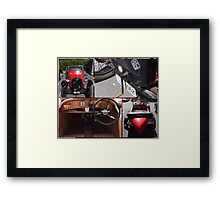 Austin 7 full  windscreen  Framed Print