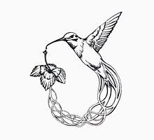Kolibri Flower Unisex T-Shirt