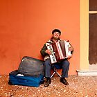 The Accordionist by Rae Tucker