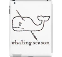 Whaling Season: Vineyard Vines Sucks Floral Logo iPad Case/Skin