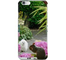 Snowdrop the Maltese & Harrry the Squirrel iPhone Case/Skin