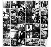 Black & White Collage Poster
