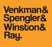 Venkman & Spengler & Winston & Ray by jozzas