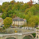 Aare Panorama from Nydeggbrcke 1 by kuntaldaftary