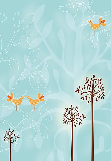 Birds in Trees by Bianca Stanton
