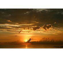 Lido Key Sunset Photographic Print