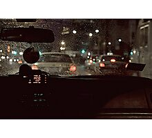 BACK-SEAT DRIVER Photographic Print