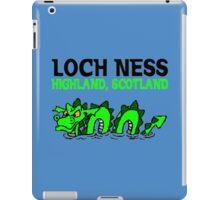 LOCH NESS iPad Case/Skin