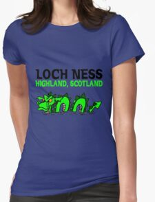 LOCH NESS Womens Fitted T-Shirt