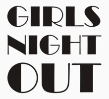 Girls Night Out Kids Clothes