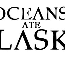 Oceans Ate Alaska B/W by AugustBurns