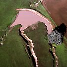 Benalla Landscape : aerial photograph by Roz McQuillan