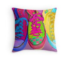 Bright Colours Throw Pillow