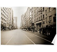 Downtown Lomo Argentina Poster