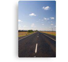 Aussie Road Canvas Print