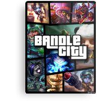 Bandle City (GTA Style) Metal Print