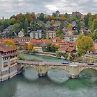 Aare Panorama from Nydeggbrcke 2 by kuntaldaftary