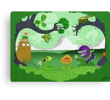 Plants vs Zombies land! Canvas Print