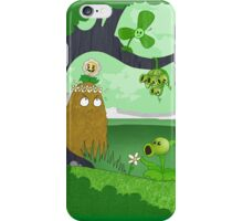 Plants vs Zombies land! iPhone Case/Skin