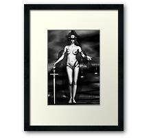 Lady Justice Framed Print