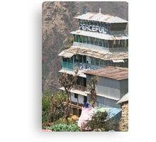 Himalayan Guesthouse Metal Print