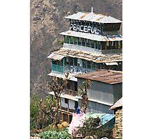 Himalayan Guesthouse Photographic Print