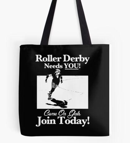 Roller Derby Recruiter Tote Bag