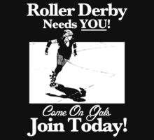 Roller Derby Recruiter by John Perlock