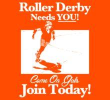 Roller Derby Recruiter Kids Clothes