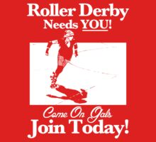 Roller Derby Recruiter Kids Clothes