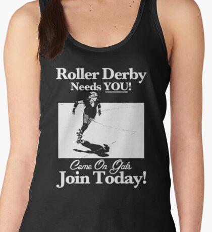 Roller Derby Recruiter Women's Tank Top