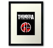 Thundera Framed Print