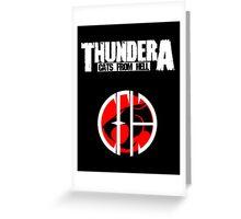 Thundera Greeting Card