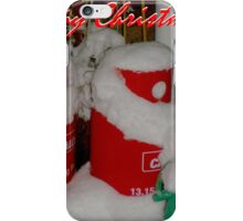 The Santa Twins! iPhone Case/Skin