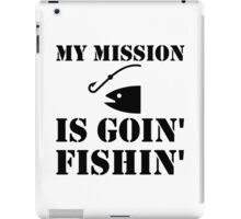 My Mission Fishing iPad Case/Skin