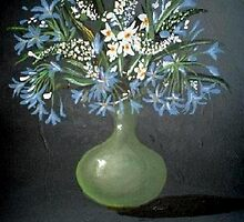 Vase of Flowers by Cherie Roe Dirksen