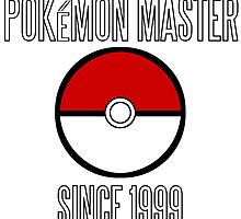 Pokemon Master since 1999 by TheLix