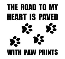 Paved Paw Prints by AmazingMart