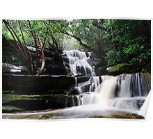 Waterfall from Somersby Falls 9 Poster