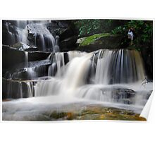 Waterfall from Somersby Falls 10 Poster