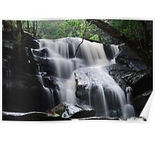 Waterfall from Somersby Falls 11 Poster