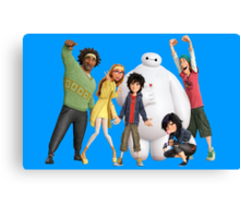 Big Hero 6 - Team #2 Canvas Print