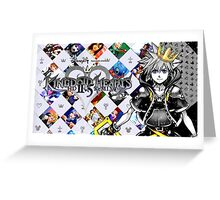 Sora - Kingdom Hearts 2.5 Greeting Card
