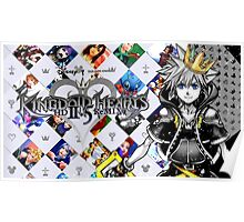 Sora - Kingdom Hearts 2.5 Poster