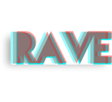 RAVE Canvas Print
