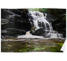 Waterfall from Somersby Falls 14 Poster