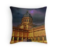 Under a Violet Sky Throw Pillow
