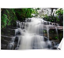 Waterfall from Somersby Falls 17 Poster