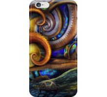 Steampunk - Starry night iPhone Case/Skin